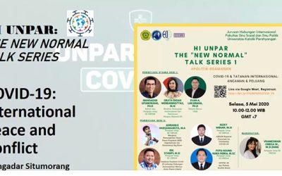 """HI Unpar Selenggarakan The """"New Normal"""" Talk Series"""
